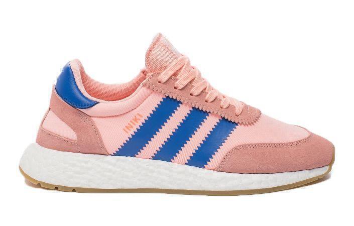 Adidas Iniki Runner Boost (Coral/Blue) фото #2 в «GetKeds»