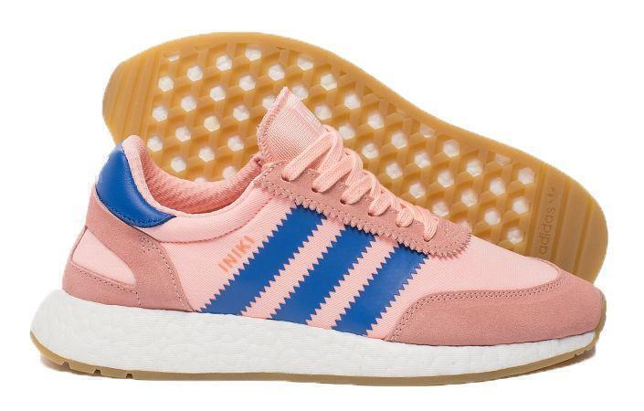 Adidas Iniki Runner Boost (Coral/Blue) фото #3 в «GetKeds»