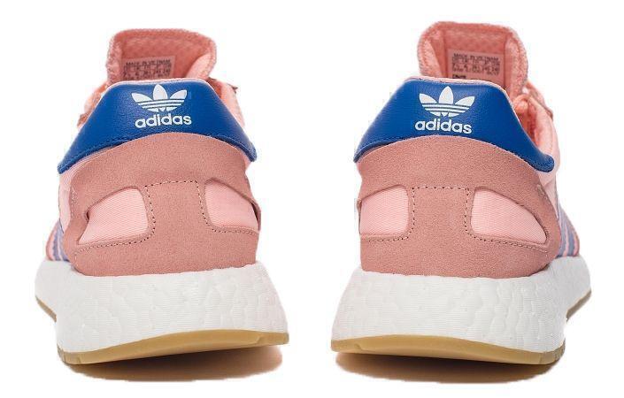 Adidas Iniki Runner Boost (Coral/Blue) фото #4 в «GetKeds»
