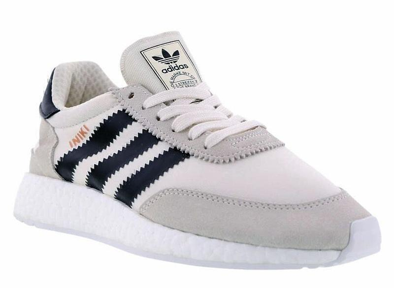 Кроссовки Adidas Iniki Runner Boost (Grey/Black) фото в «GetKeds»
