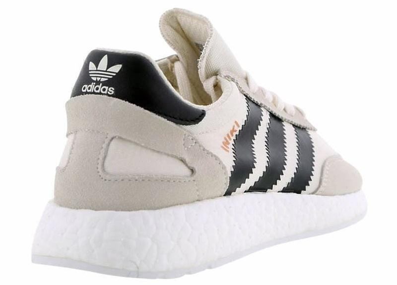 Adidas Iniki Runner Boost (Grey/Black) фото #3 в «GetKeds»