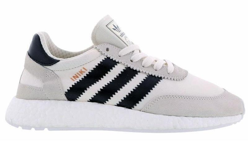 Adidas Iniki Runner Boost (Grey/Black) фото #2 в «GetKeds»