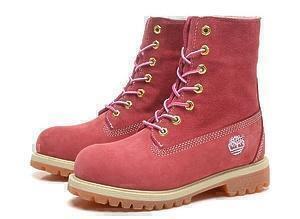 Ботинки Timberland Teddy Fleece (Pink) (C мехом)-RT3332GK