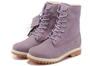 Ботинки Timberland Teddy Fleece (Purple) (C мехом)-RT3333GK