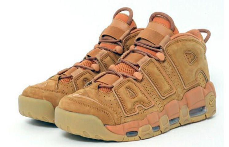 Кроссовки Nike Air More Uptempo (Wheat) фото в «GetKeds»