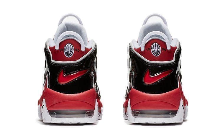 Nike Air More Uptempo Chicago Bulls (Red/White/Black) фото #4 в «GetKeds»