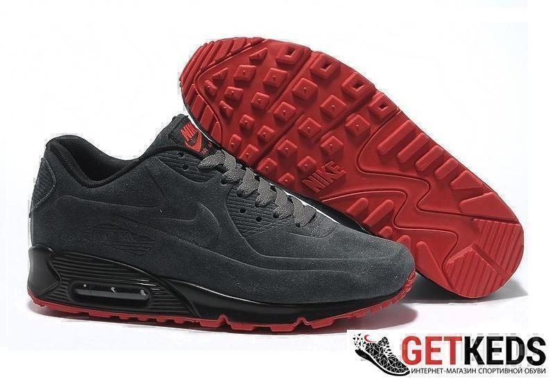 Кроссовки Nike Air Max 90 VT (Grey) фото в «GetKeds»