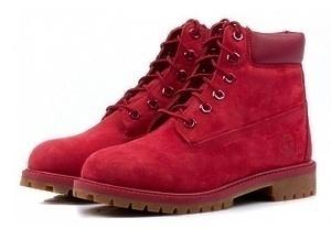 Ботинки Timberland 6 Inch Boots (Red)-RT3336GK