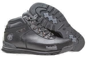 Ботинки Timberland Euro Sprint Leather (Black) (С мехом)-RT3317GK