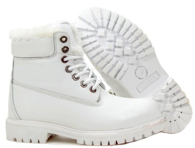 Ботинки Timberland 6 Inch Premium Waterproof (White) фото в «GetKeds»