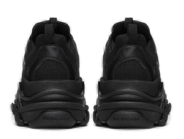Balenciaga Triple S (Black) фото #4 в «GetKeds»