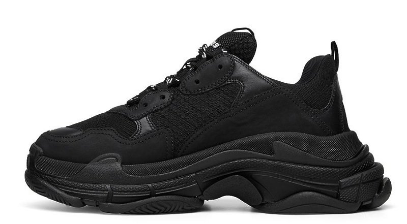 Balenciaga Triple S (Black) фото #2 в «GetKeds»