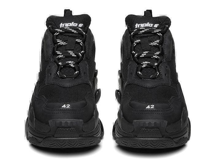 Balenciaga Triple S (Black) фото #3 в «GetKeds»