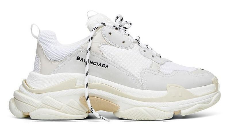 Кроссовки Balenciaga Triple S (White) фото в «GetKeds»
