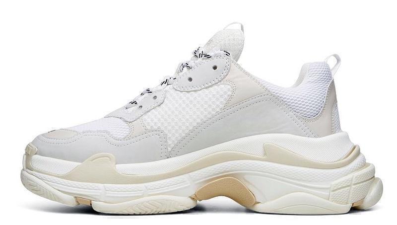 Balenciaga Triple S (White) фото #2 в «GetKeds»