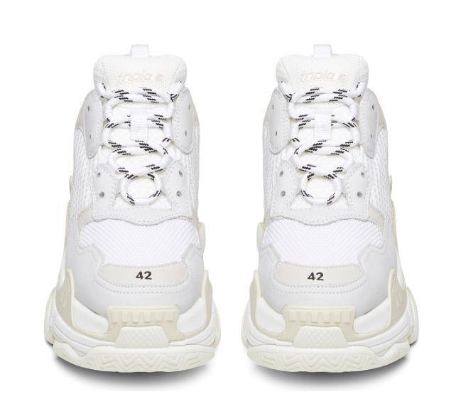 Balenciaga Triple S (White) фото #3 в «GetKeds»