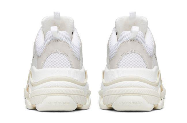 Balenciaga Triple S (White) фото #4 в «GetKeds»