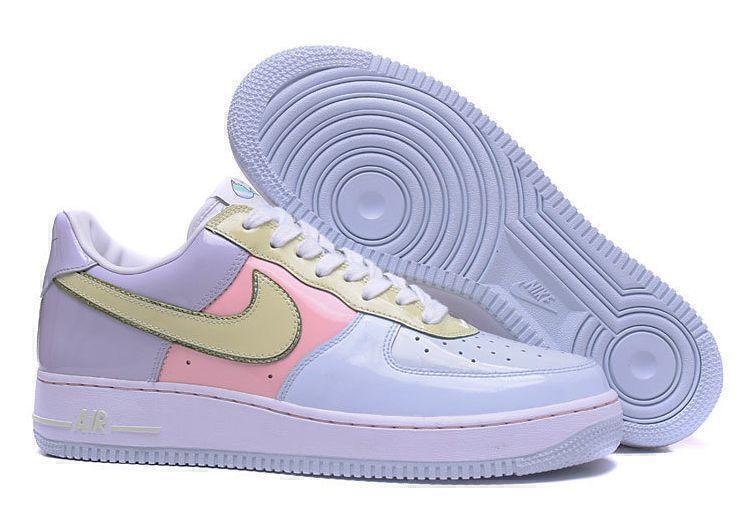 Кроссовки Nike Air Force 1 Low Easter (Titanium/Lime/Ice-Storm/Pink) фото в «GetKeds»