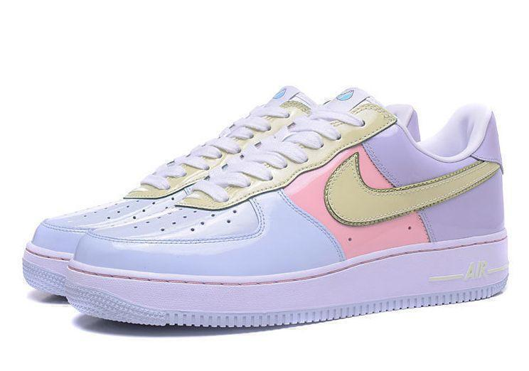 Nike Air Force 1 Low Easter (Titanium/Lime/Ice-Storm/Pink) фото #2 в «GetKeds»