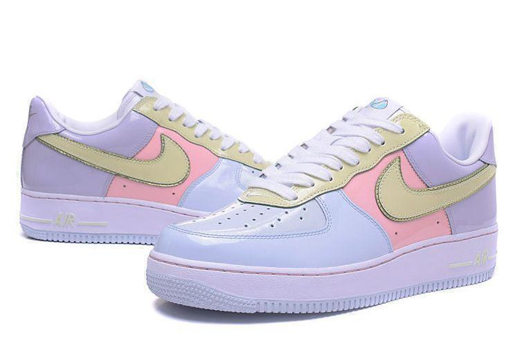Nike Air Force 1 Low Easter (Titanium/Lime/Ice-Storm/Pink) фото #4 в «GetKeds»