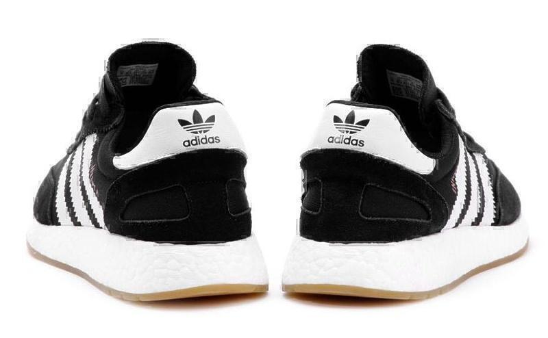 Adidas Iniki Runner Boost (Black/White) фото #3 в «GetKeds»