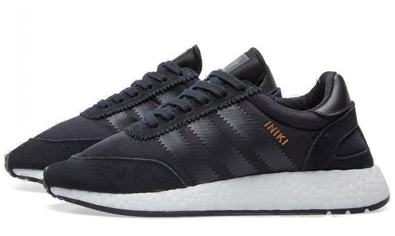 Adidas Iniki Runner Boost (Core Black) фото #2 в «GetKeds»