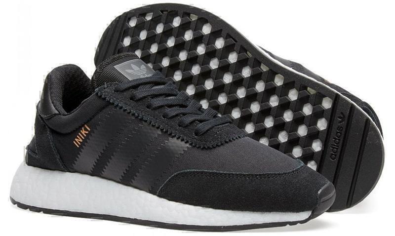 Adidas Iniki Runner Boost (Core Black) фото #3 в «GetKeds»