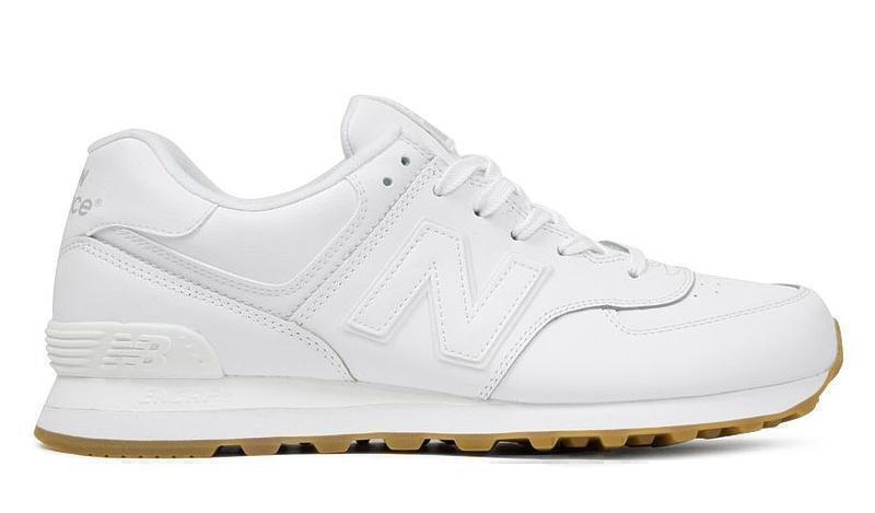 Кроссовки New Balance 574 White Gum (White) фото в «GetKeds»