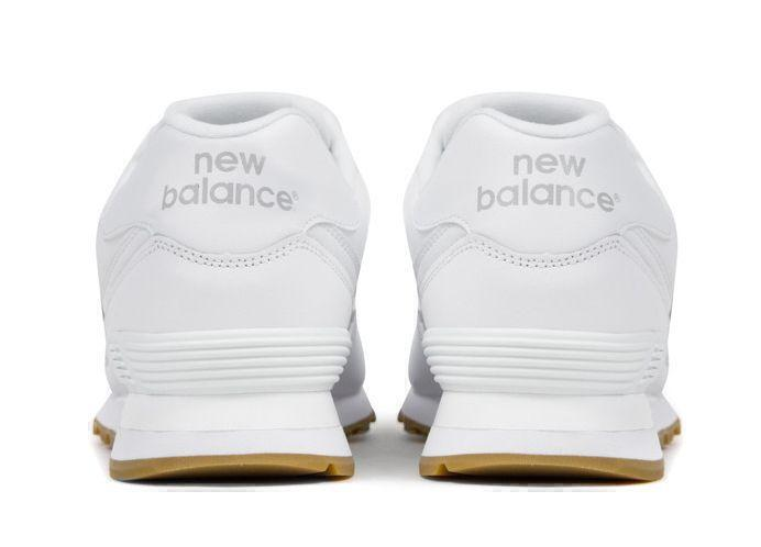 New Balance 574 White Gum (White) фото #4 в «GetKeds»