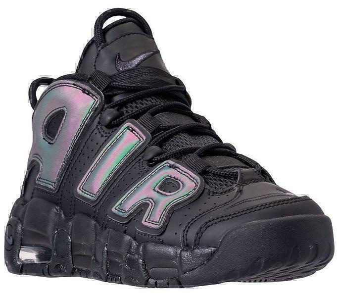 Nike Air More Uptempo GS Reflective (Black) фото #2 в «GetKeds»