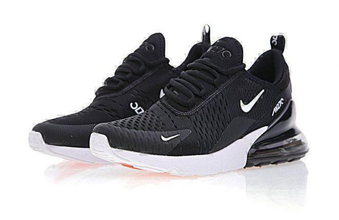 Кроссовки Nike Air Max 270 (Black/White) фото в «GetKeds»