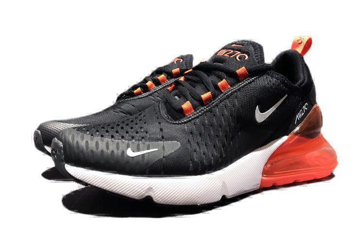 Кроссовки Nike Air Max 270 (Black/White/Red) фото в «GetKeds»