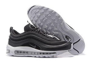 Кроссовки Nike Air Max 97 (Black/White/Metallic Silver)-GA1794GK