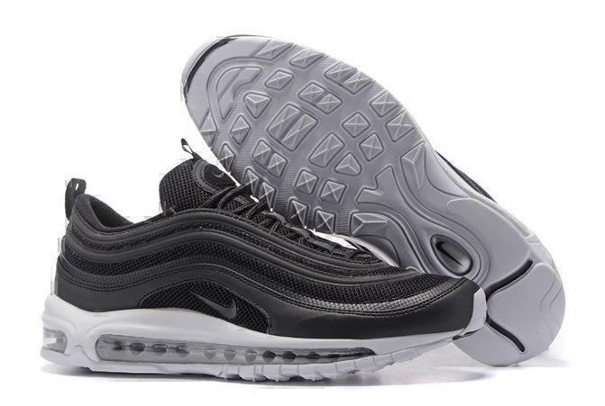 Кроссовки Nike Air Max 97 (Black/White/Metallic Silver) фото в «GetKeds»