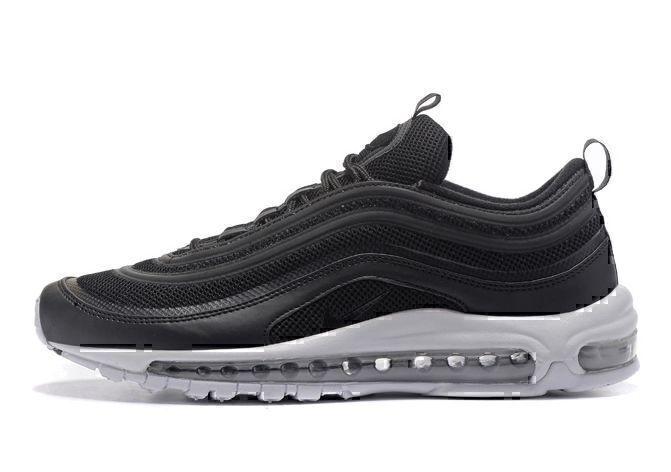 Nike Air Max 97 (Black/White/Metallic Silver) фото #2 в «GetKeds»