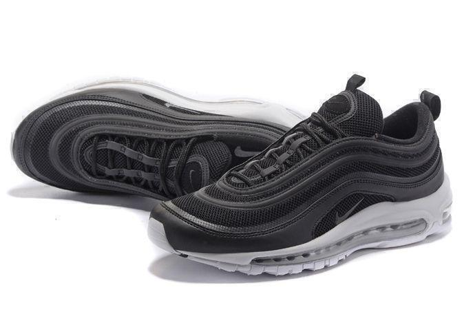 Nike Air Max 97 (Black/White/Metallic Silver) фото #3 в «GetKeds»