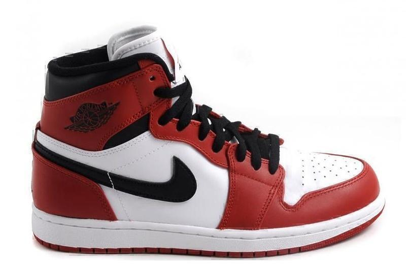 Air Jordan 1 Retro (White/Varsity Red/Black) фото #2 в «GetKeds»