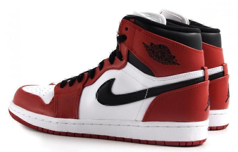 Air Jordan 1 Retro (White/Varsity Red/Black) фото #4 в «GetKeds»
