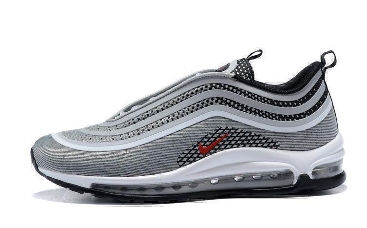 Nike Air Max 97 (Silver/Red/Black/White) фото #1 в «GetKeds»