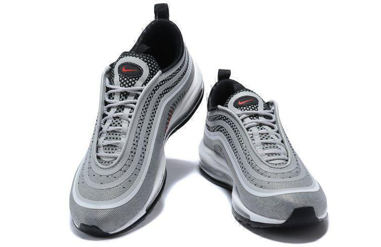 Nike Air Max 97 (Silver/Red/Black/White) фото #3 в «GetKeds»