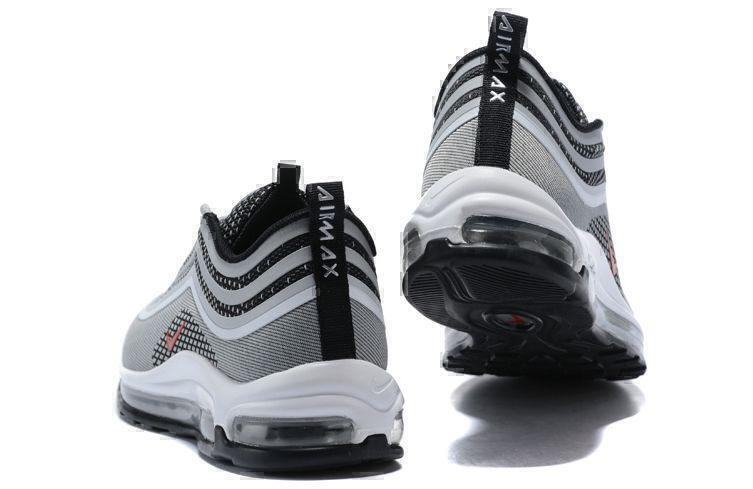 Nike Air Max 97 (Silver/Red/Black/White) фото #4 в «GetKeds»