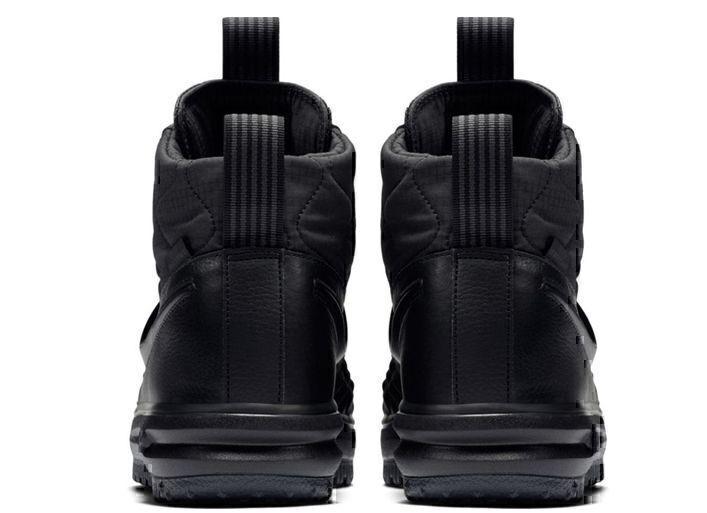 Nike Lunar Force 1 Duckboot (All Black) фото #3 в «GetKeds»