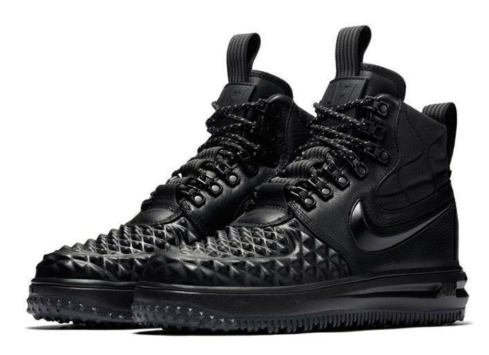 Кроссовки Nike Lunar Force 1 Duckboot (All Black) фото в «GetKeds»