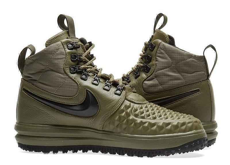 Nike Lunar Force 1 Duckboot (Dark Green) фото #2 в «GetKeds»