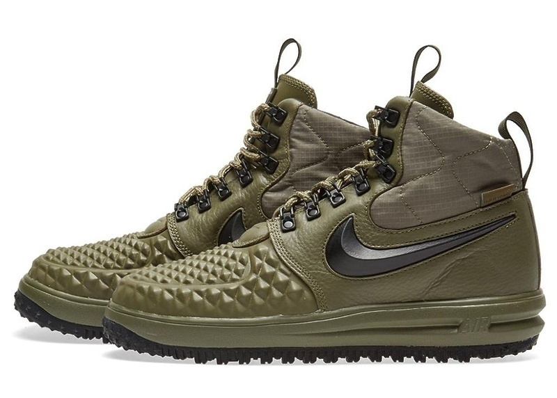 Nike Lunar Force 1 Duckboot (Dark Green) фото #3 в «GetKeds»