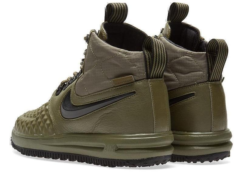 Nike Lunar Force 1 Duckboot (Dark Green) фото #4 в «GetKeds»