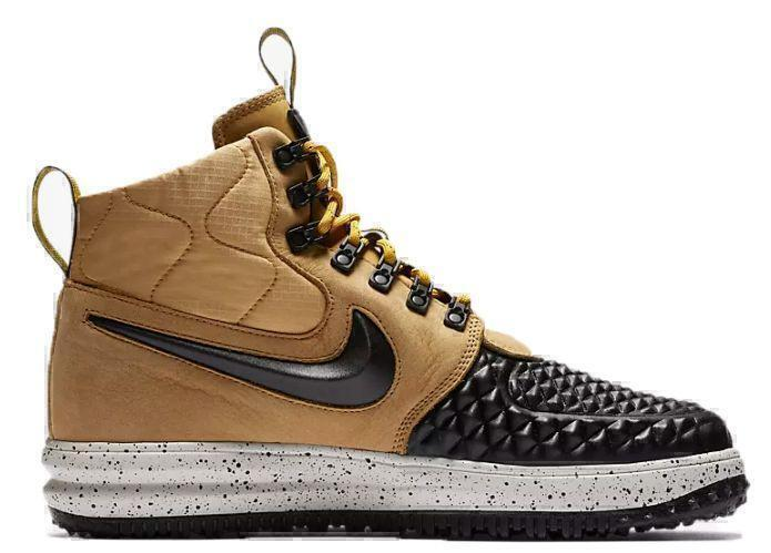 Nike Lunar Force 1 Duckboot (Metallic Gold/Light Bone/Black) фото #3 в «GetKeds»