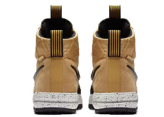 Nike Lunar Force 1 Duckboot (Metallic Gold/Light Bone/Black) фото #4 в «GetKeds»