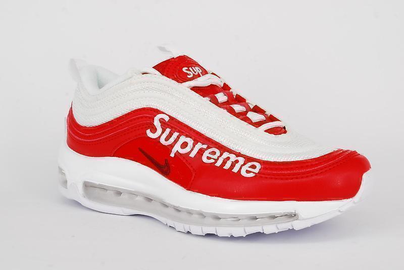 Nike Air Max 97 Supreme 599432 White Red фото #3 в «GetKeds»
