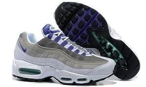 Кроссовки Nike Air Max 95 (White/grey/purple)-M1019GK